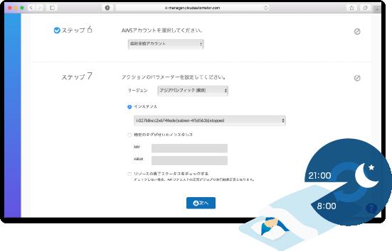 ジョブ自動化   AWS運用自動化サービス Cloud Automator